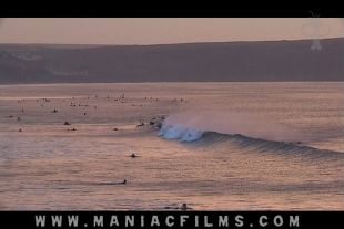 Busy line up in Woolacombe