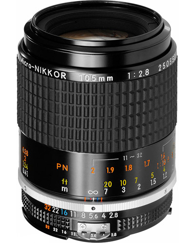Nikon 105mm macro f/2.8  prime lens  - will fit Canon EF