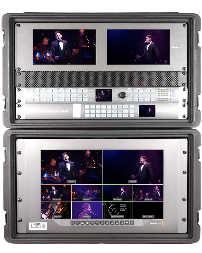 4K & HD Live event vision mixer video switch kit version1