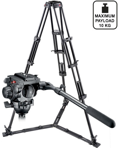 Image of the Manfrotto 545 tripod with 519 video head