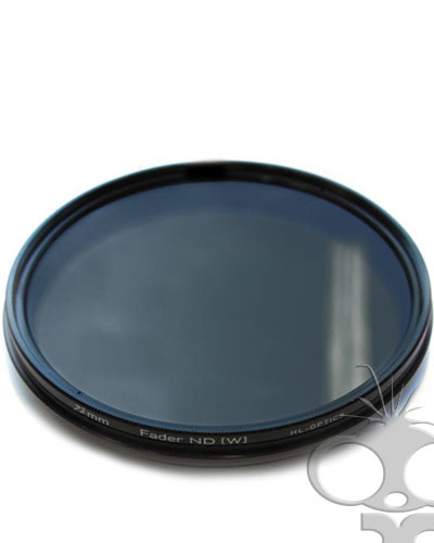 Variable Neutral Density (ND) filter - 72mm screw type