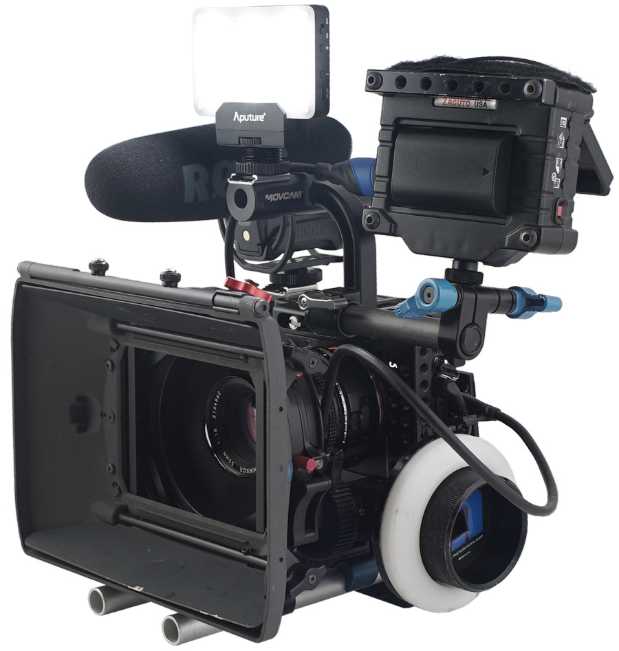 Tripod mounted camera rig hire