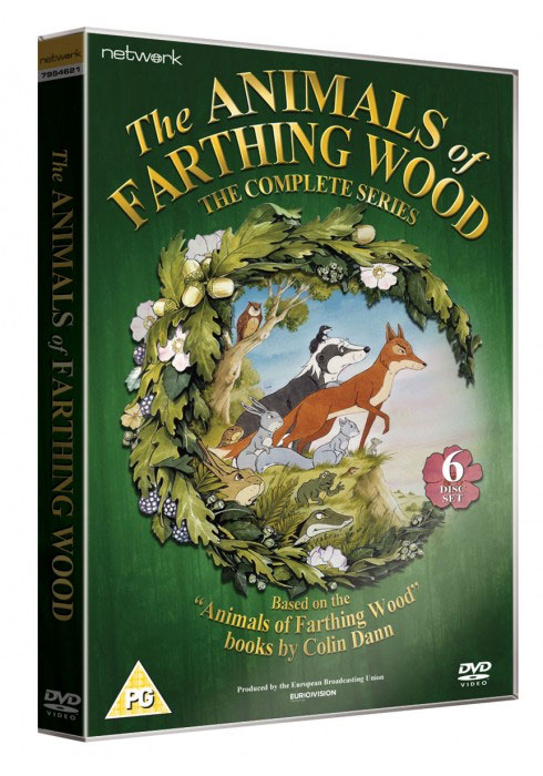The Animals of Farthing Wood box set cover - now available from Network
