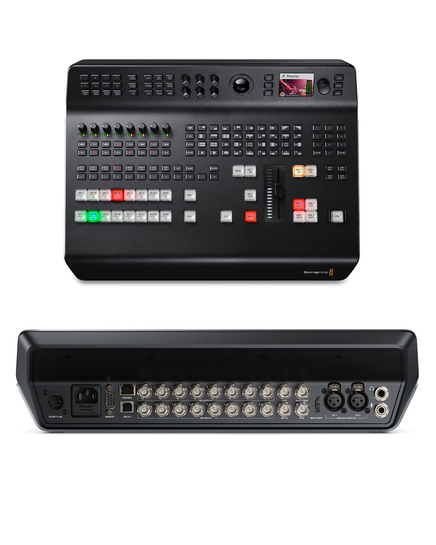 Blackmagic ATEM Television Studio Pro 4K switcher 12G-SDI