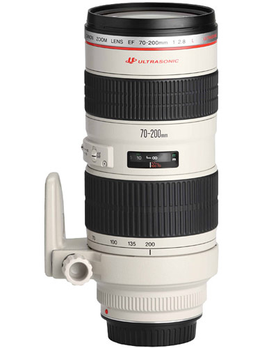 Image of the Canon EF 70-200mm f/2.8 zoom lens