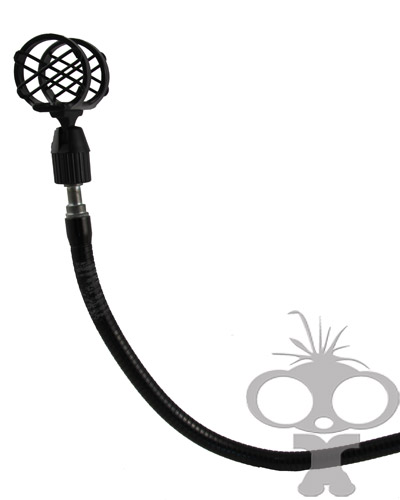 Image of the Flexible gooseneck mic stand
