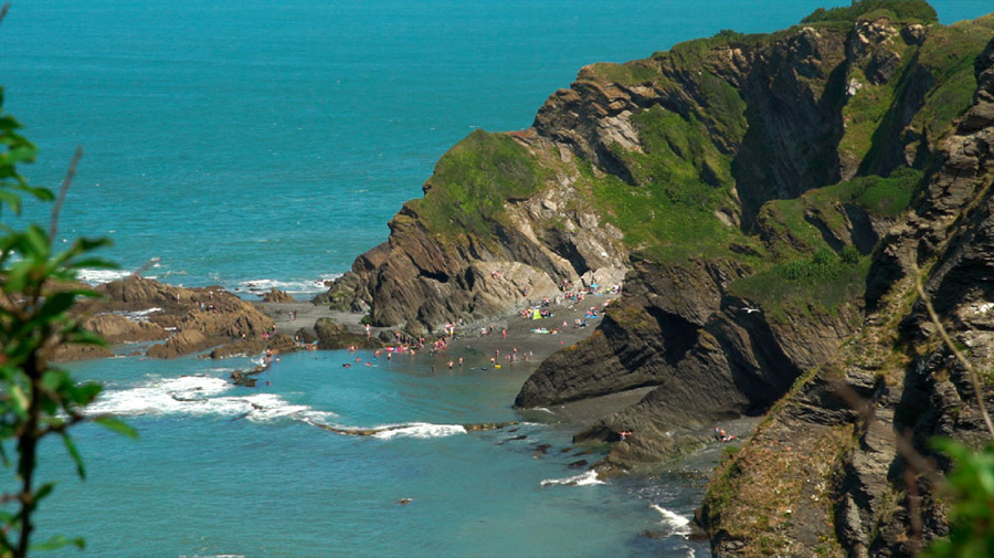 Tunnel beaches - Ilfracombe