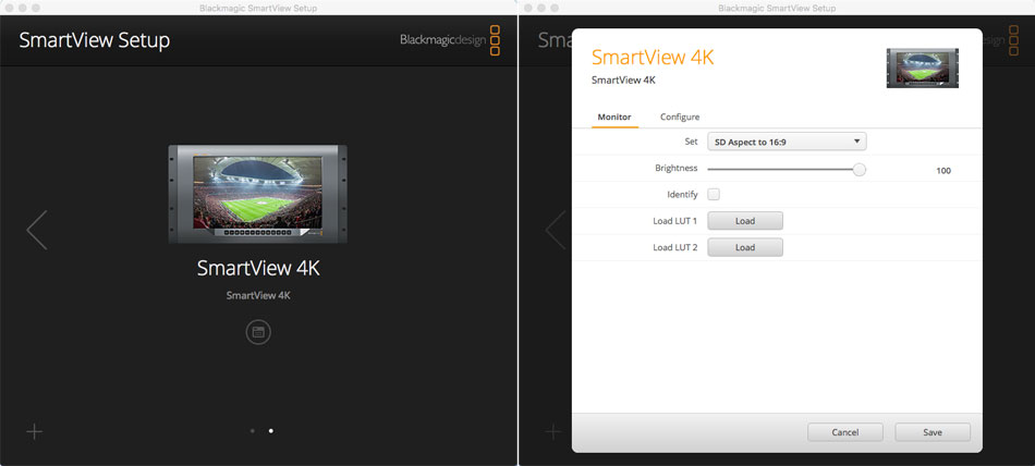 Instaling LUTs on the Blackmagic Smartview 4K