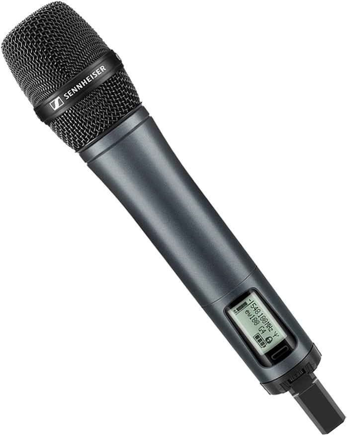 Sennheiser SKM 100 wireless G4 mic with MMD 835-1 vocal head