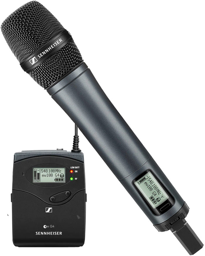 Sennheiser SKM100 G4-E835 Wireless Vocal Mic Kit ch38