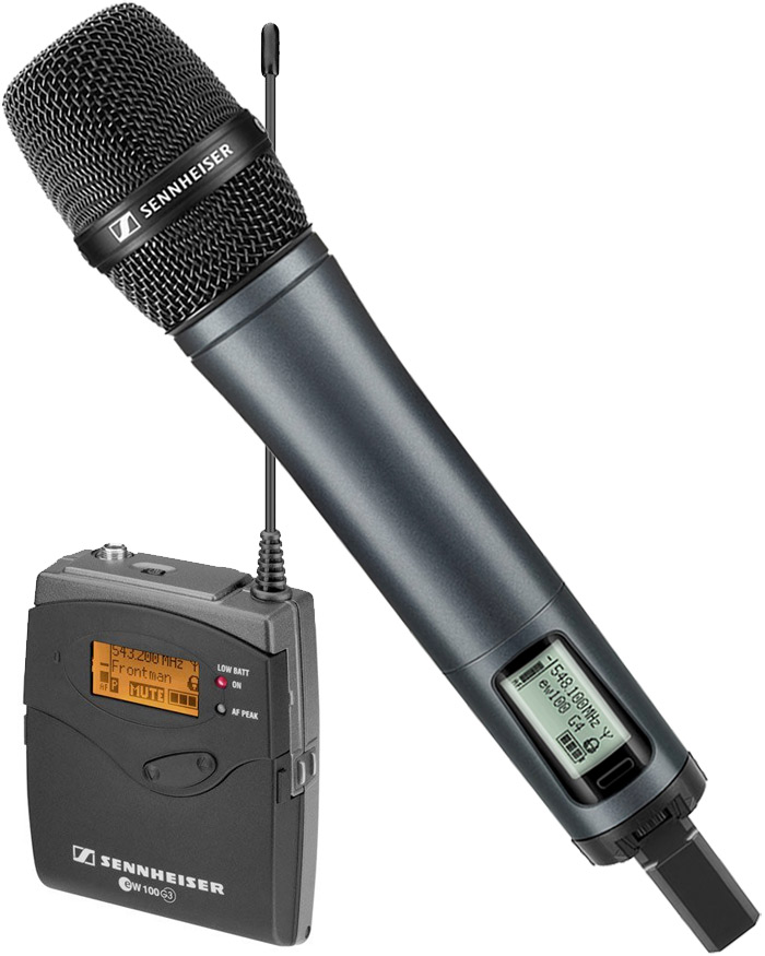 Sennheiser SKM 100 - e835 wireless vocal mic kit