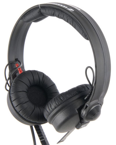 Image of the Sennheiser HD 25-1 II headphones