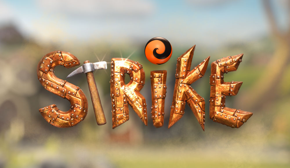 STRIKE animated family feature film title