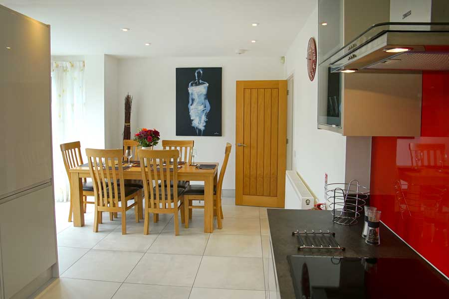 The Reeds kitchen in Croyde Bay - available for your next holiday