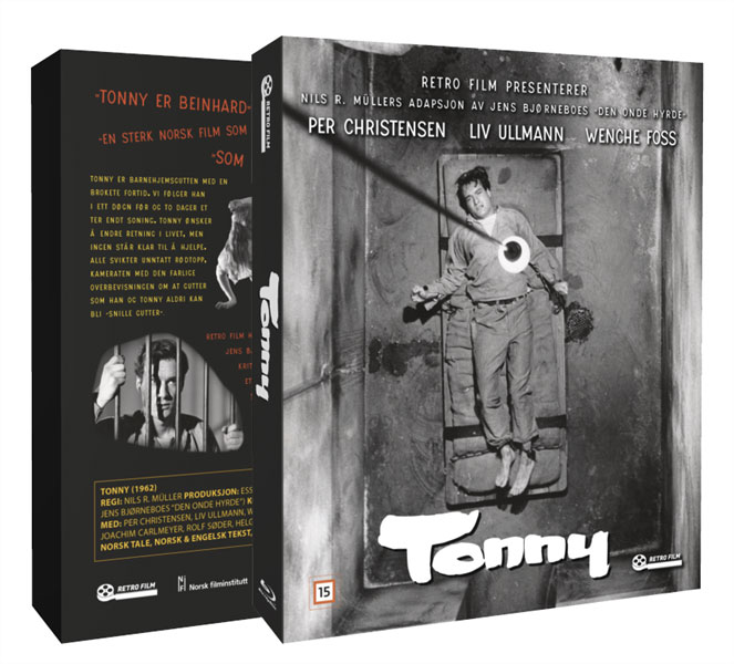 Tonny disc cover for the newly released Blu-ray version of this classic 1962 film