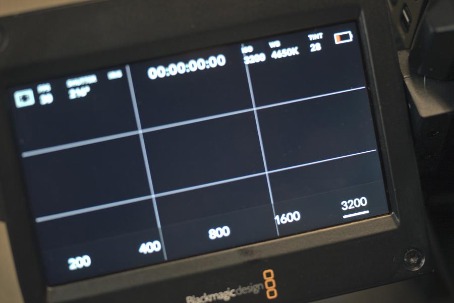 URSA Mini Pro ISO 3200