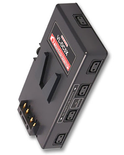 Image of the Hawk Woods 12V V-Lock battery DTAP power box 15mm