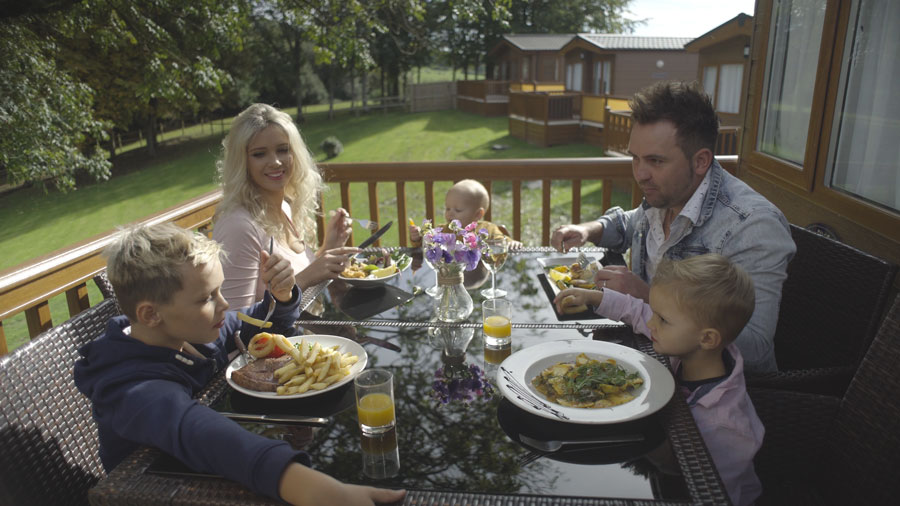 Wookey Hole Luxury lodges