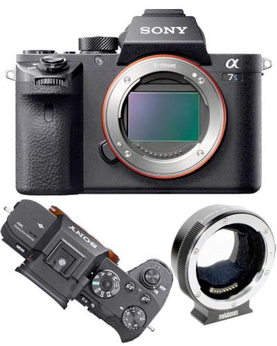 Sony A7Sii 4k video camera EF kit