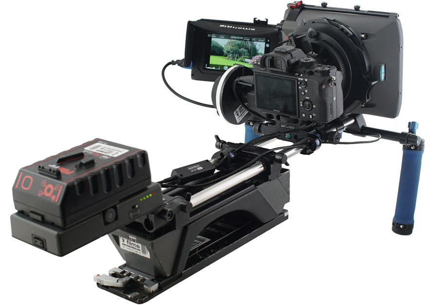 Sony a7s Shoulder mount rig hire