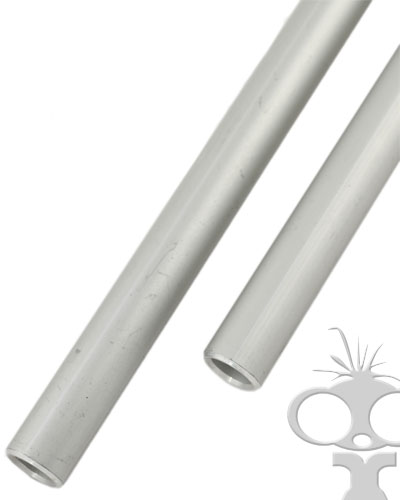 15mm rods (set) Aluminium