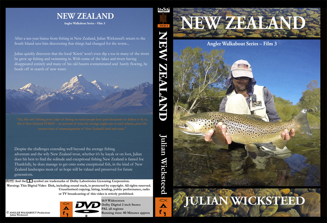 Angler Walkabout DVD cover