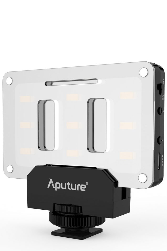 Aputure Amaran mini LED fill light panel, 95+ CRI