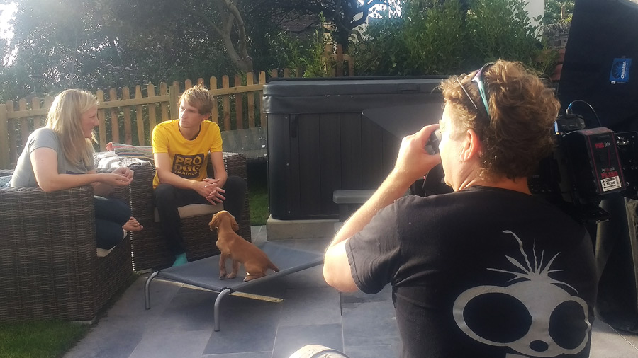 Pro Trainer Course filming for Absolute Dogs