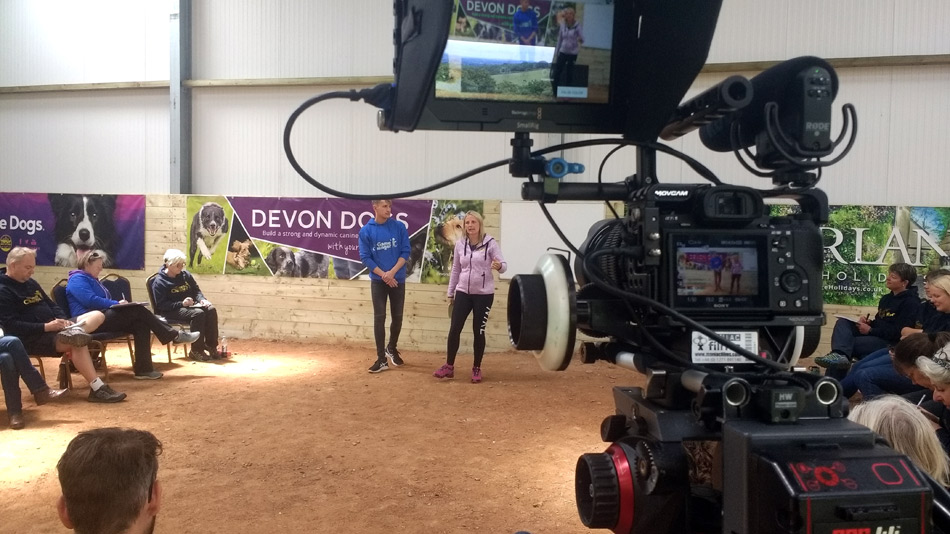Live training event filming with AbsoluteDogs