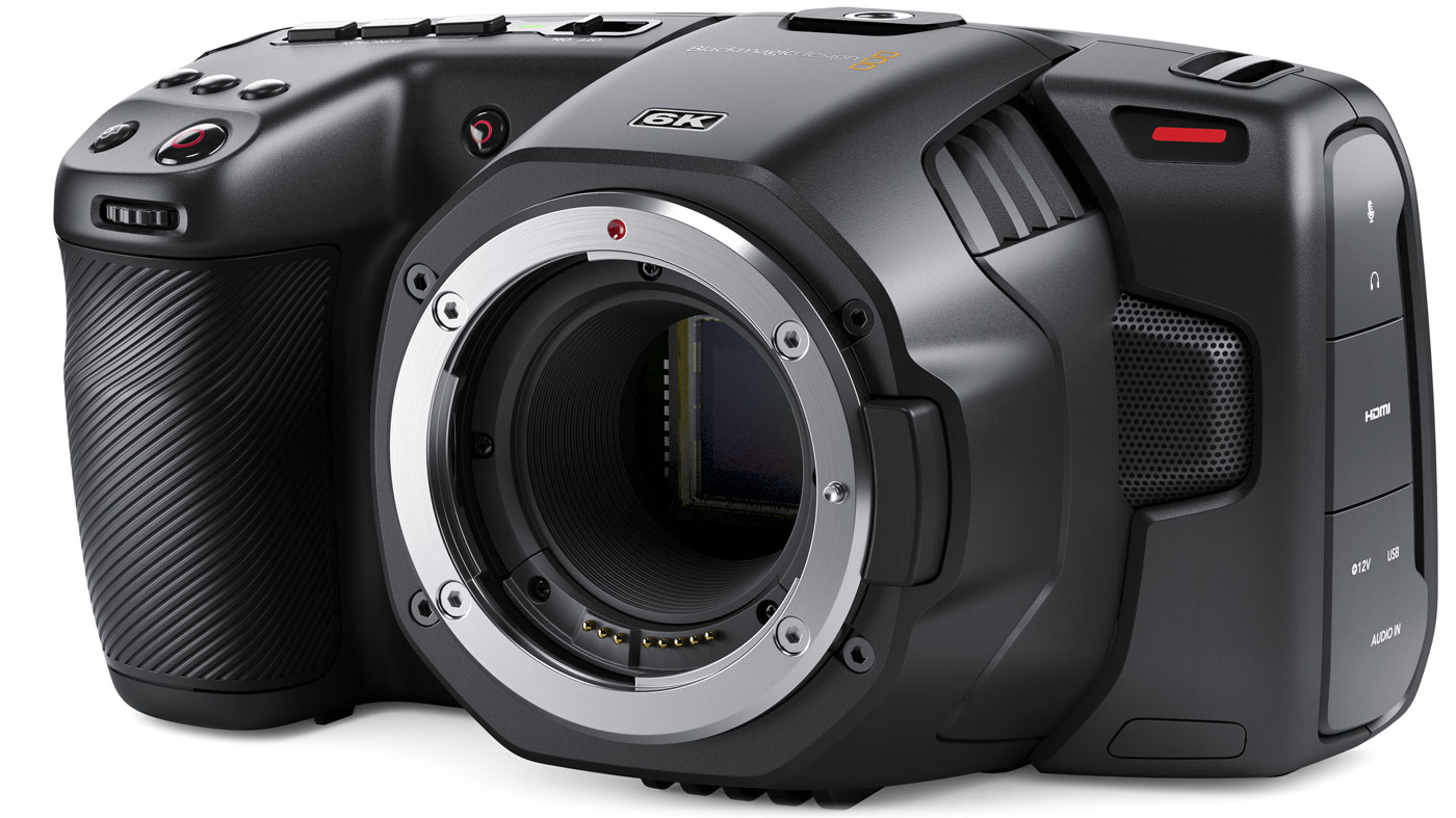 Blackmagic Pocket Cinema Camera 6K BMPCC6K available for hire