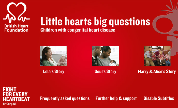 DVD Authoring for British Heart Foundation CHD