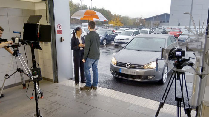 Sound recordist for training film with major car manufacturer