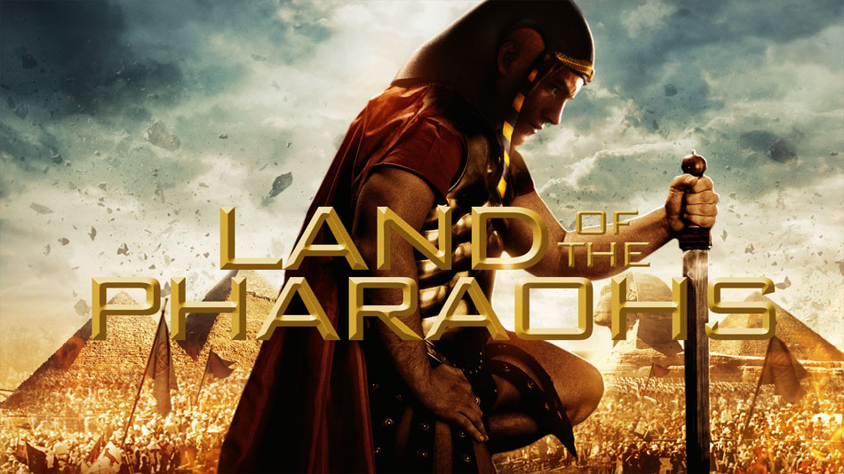 Land of the Pharaohs DVD authoring