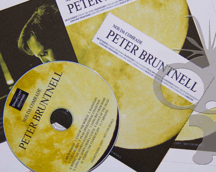 CD Duplication for Peter Bruntnell album Nos Da Comrade