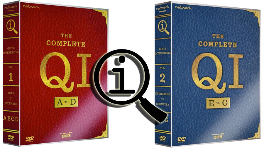 QI Vol 1  2 DVD Box Set Authoring