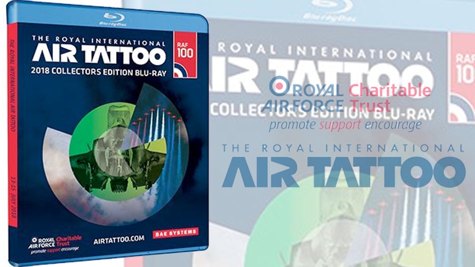 Blu-Ray BDCMF authoring for Royal International Air Tattoo 2018