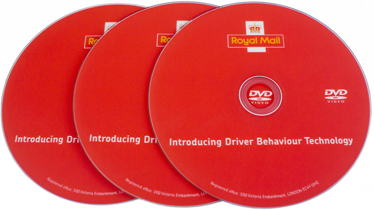DVD Authoring & Duplication for Royal Mail