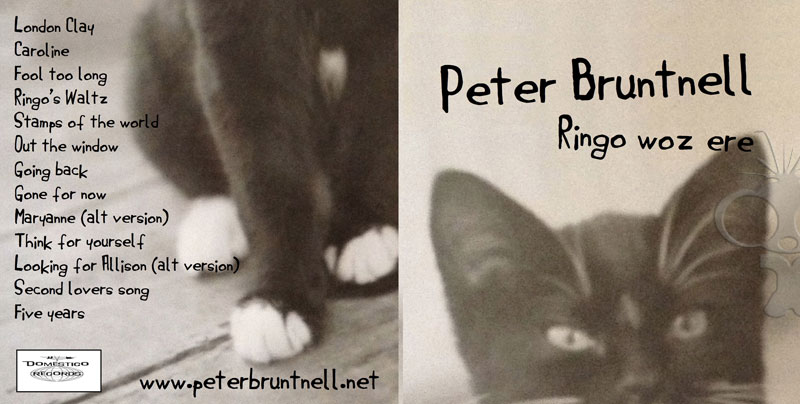 Additional CD duplication for Peter Bruntnells Ringo Woz Ere album