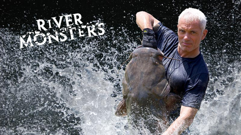 River Monsters Italian DVD box set coming soon