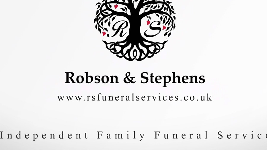 Promotional video for Robson & Stephens Funeral Directors