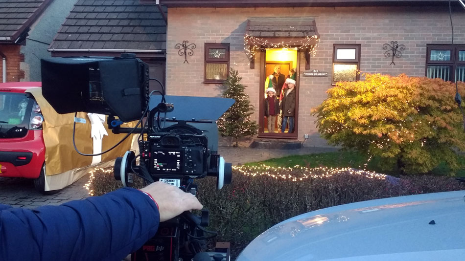 Christmas TV Advert Filming with Colour247