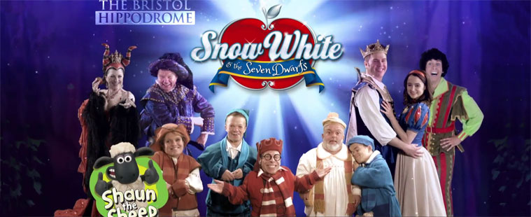 Snow White Advert for Bristol Hippodrome Goes Live