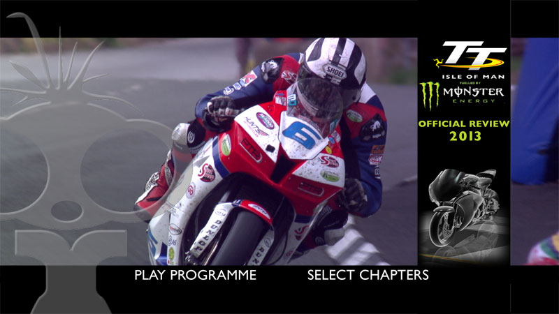 Blu-ray authoring and NTSC conversion for Isle of Man TT 2013