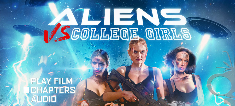 Aliens vs College Girls DVD Authoring
