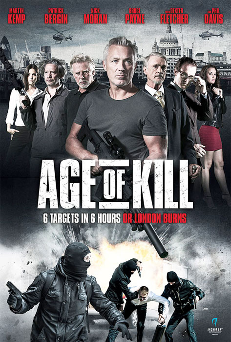 Visual Effects 40 VFX shots for Age Of Kill Feature Film