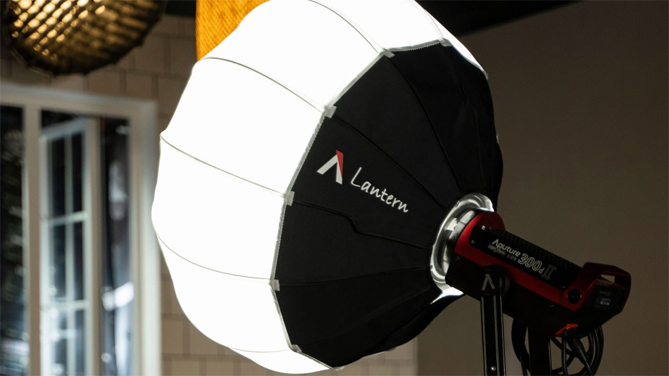 Aputure Lantern diffuser now in stock