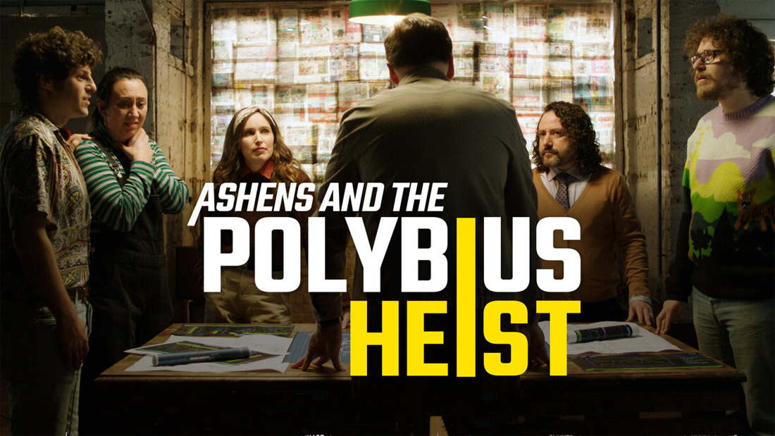 BDCMF encode for Ashens and the Polybius Heist