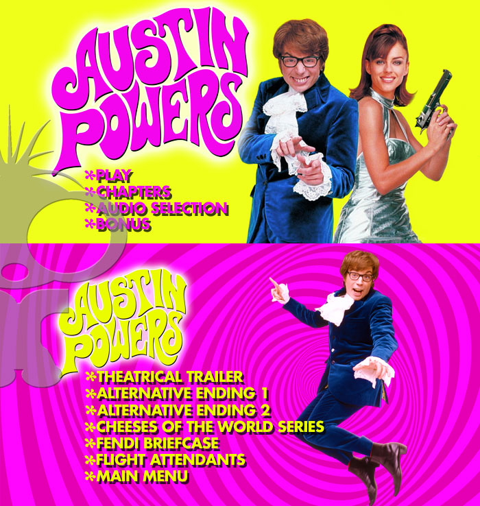 DVD & Blu-ray Production for Austin Powers