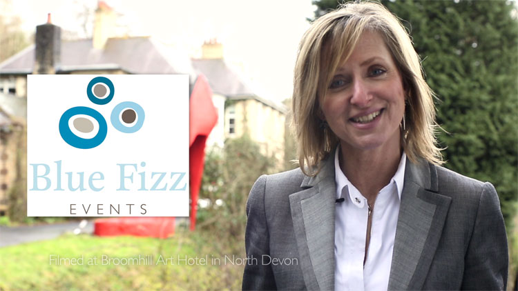 New promotional film for Blue Fizz Events