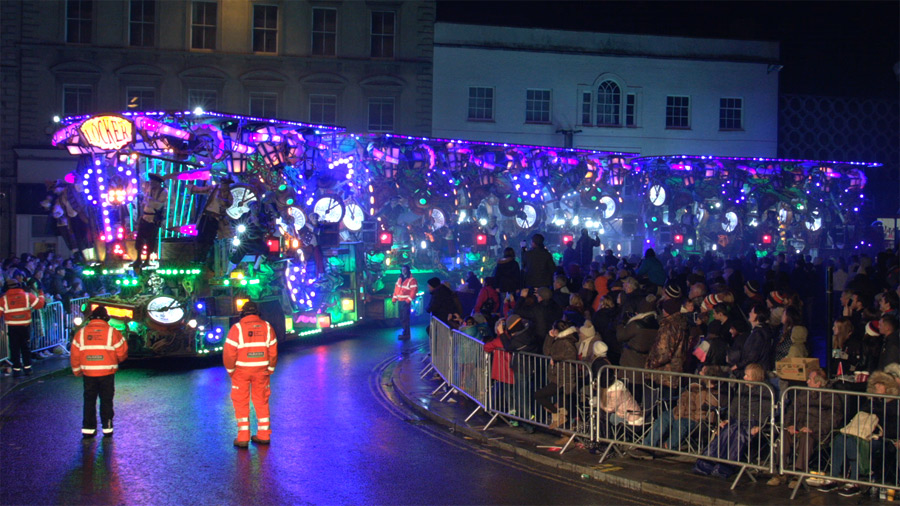 Live Filming & Vision Mixing for Bridgwater Carnival 2017